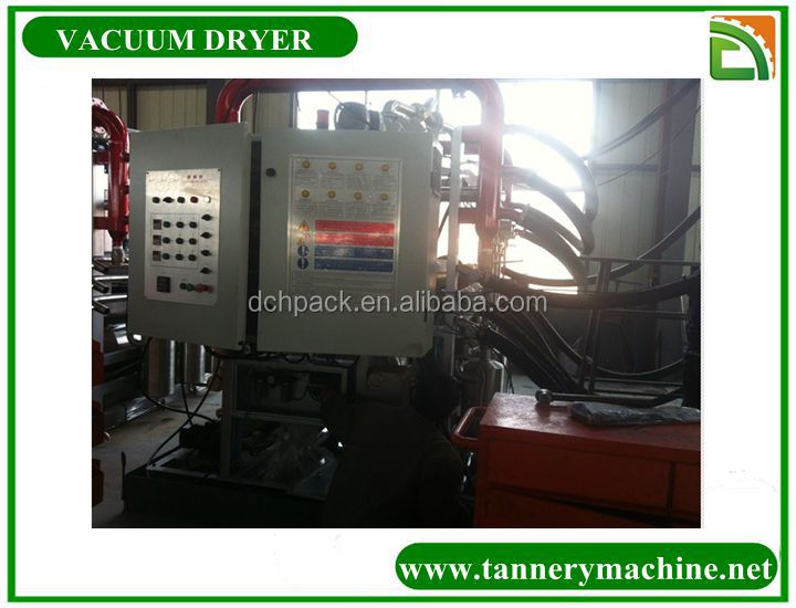 used tannery machines for leather vacuum dryer
