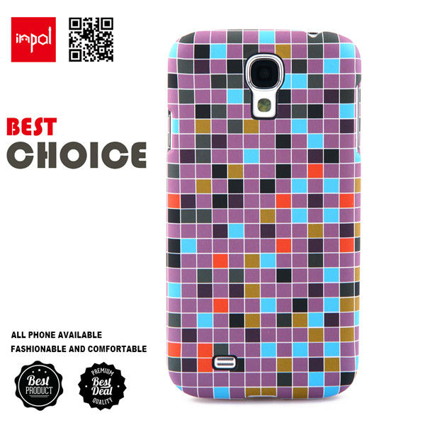 Original custom hard shell PC mobile phone cover for samsung S4 with best protection and slim design