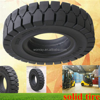 Top Sales Forklift Gomme Piene, Industrial Pneumatic SOLID Tires 7.50-16 With Low Price