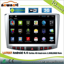 touch screen Car gps navigation with Android Bluetooth GPS 3G WIFI DVR auto dim rearview mirror TV Tuner USB