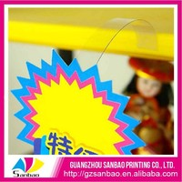 PVC- POP Advertising Shelf Wobbler wholesale