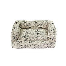 Factory supply attractive price Multiple Sizes Canvas handmade pet sofa