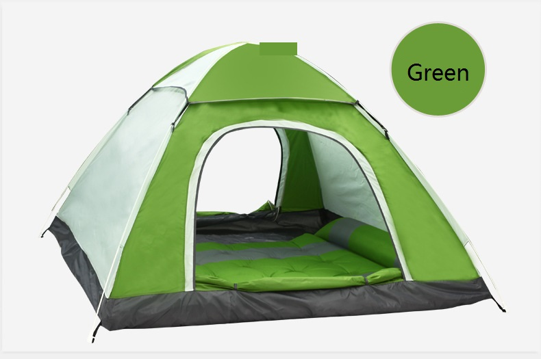Storage clearance Automatic Hydraulic Spring Style Foldable 3-4 Person Outdoor Camping Tent