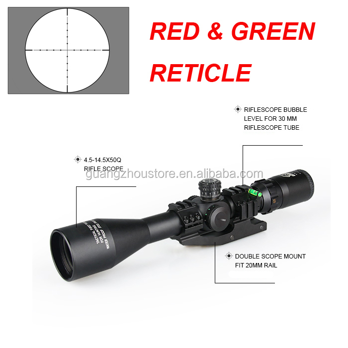 GZ10252 Wholesale 3-12X40 Front Focus Tactical Outdoor Optics Telescopic Gun Sight Sniper Hunting Shooting Rifle Scope