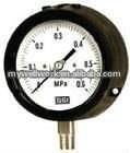 Standard liquid filled vibration-proof pressure gauge(one piece structure)