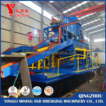 2016 new design Gold dredging machine