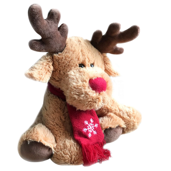 Plush moose toy christmas moose stuffed and plush toys