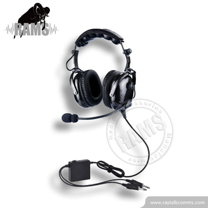 Aviation ANR Headset Active Noise Cancelling Pilot headset