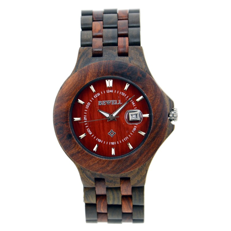 3 ATM Water Resistant watch Wholesale BEWELL Wooden Watches