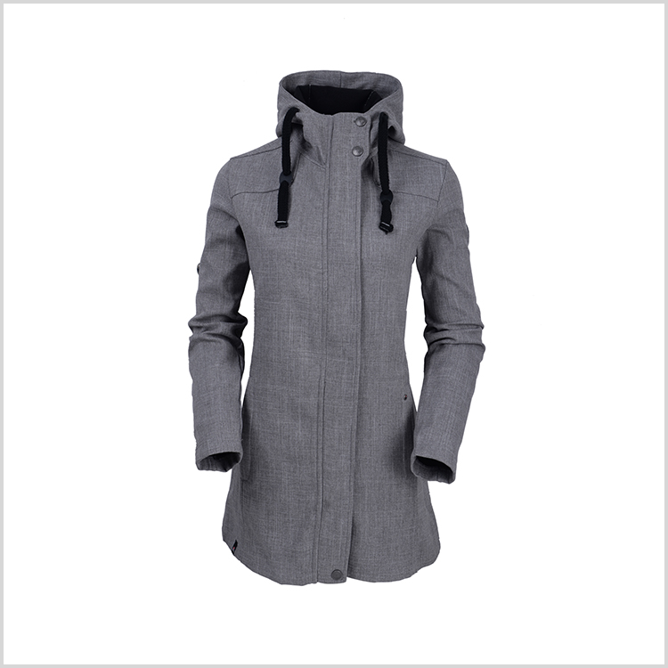 Winter latest model slim fit long parka women trench coat
