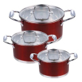 stainless steel pot cookware set