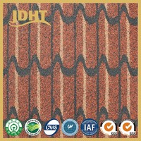 N003 Good quality JD-254 flexible colourful roofing waterproof sheet membrane