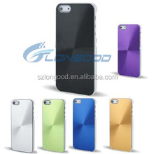 Luxury CD Texture Aluminum Metal Bumper Bulk Cell Phone Case cover for iphone