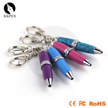 Jiangxin metal material pc screen writing pen with laser and led light