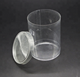 Hot Sale Disposable Small Round Plastic Clear Cylinder Packs