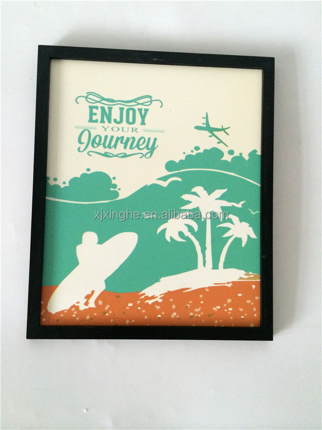 a4 wood digital printing picture photo frame