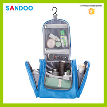 SANDOO wholesale high quality waterproof custom travel toiletry bag for unisex