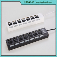 High Speed USB 2.0 Hub 7 Port , china supplier