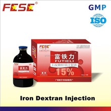 100ml 10% 15% iron dextran injectable vitamins for horses with B12 for 2015