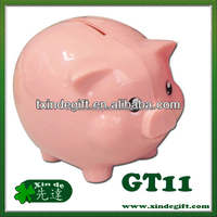 Plastic Piggy Saving Bank, Coin Bank, Piggy Bank, Money Box - Hucha - coin bank