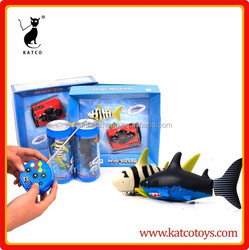 Plastic toy fish aquarium rc fish swimming robotic fish toy