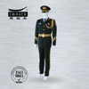 Marine military uniform for sea captain officers with army green color