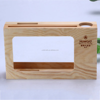 China supplier wooden business card holder box/name card box/gift card