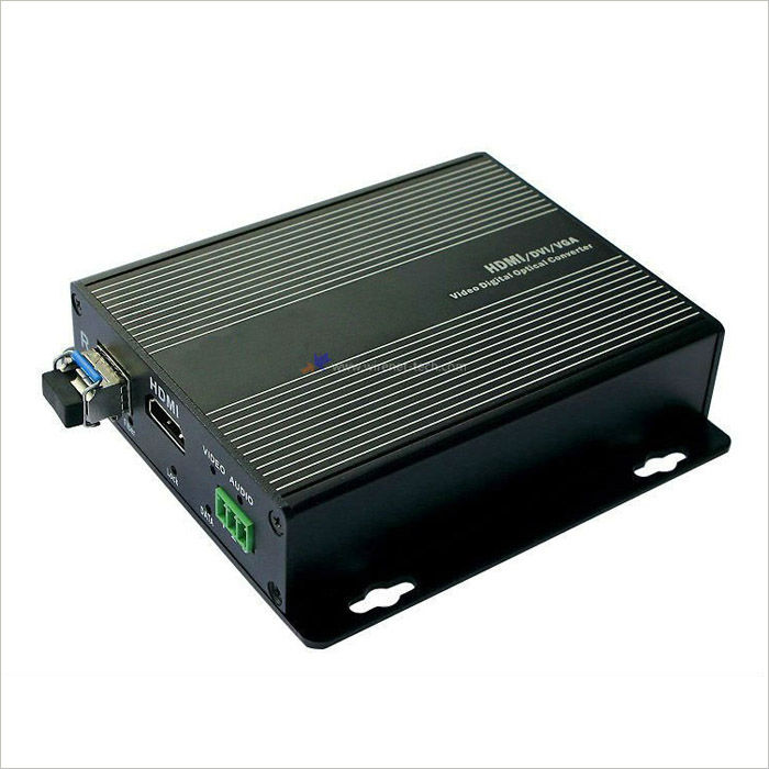With Advanced SFP Module, 1 Channel Digital HDMI To Fiber Optic Video Converter