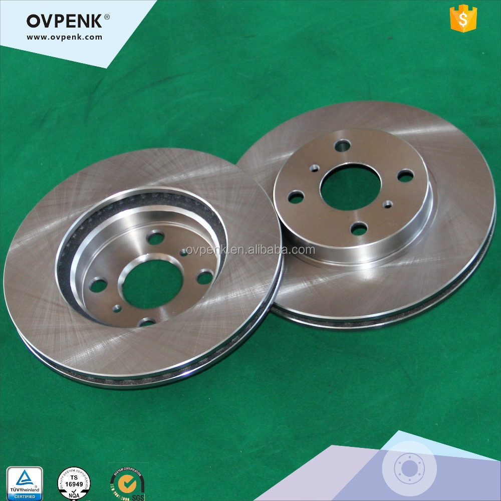Brake Rotor Disc for Toyota YARIS (_P9) 2006 High performance Auto Spare Parts