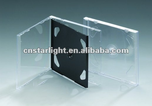 10.4mm Double CD Case with transparent tray
