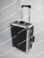 Aluminum trolley pilot case/trolley suitcase