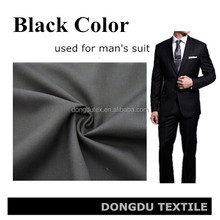 Blend woven dyed wool polyester fabric for men's pant