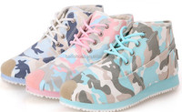 mulit color pattern new fashion and comfortable sport shoes 2014