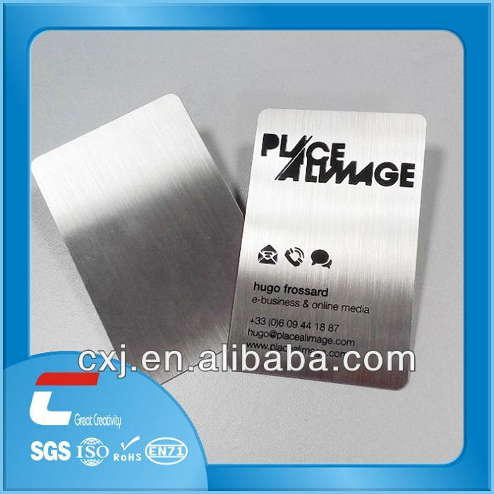 metal name plate/thin metal plate/metal plate