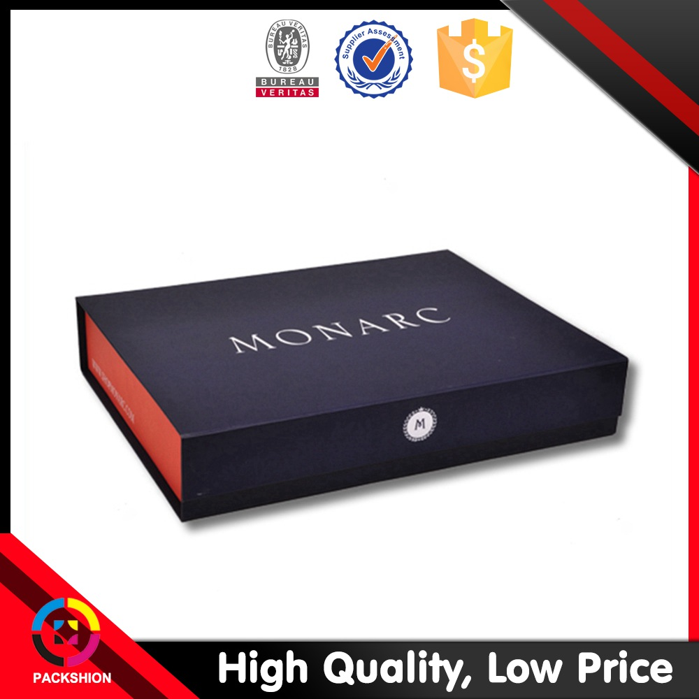 Luxury design magnetic paper magnetic gift box