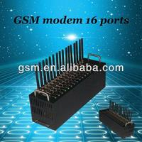16 channels!usb modem GSM SMS Modem, RJ45/usb/rs232 interface/roip gateway sip
