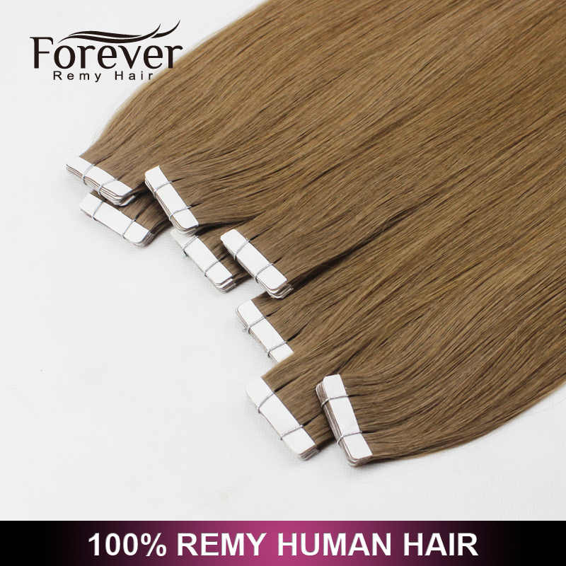 Grade AAA high quality! unprocessed remy tape hair extensions buy direct from the manufacturer