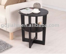 Modern round End Table french unique end tables, wood side table, bed side table