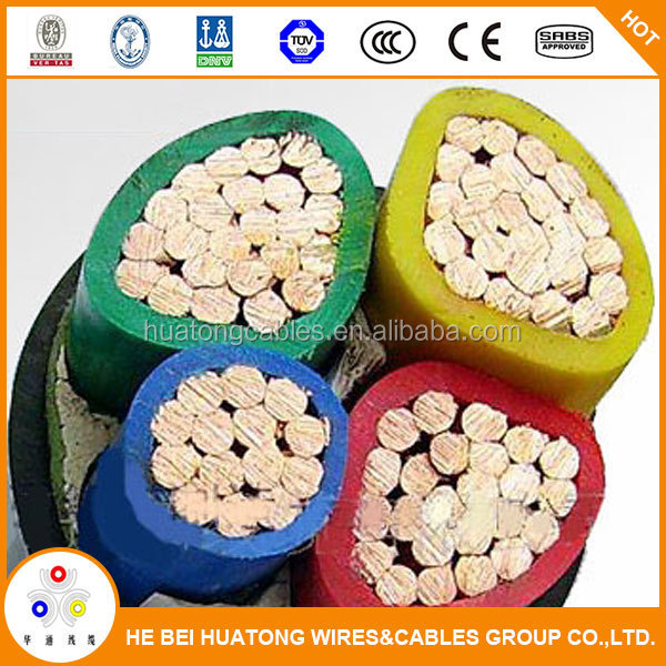 0.6/1kv multi core pvc Insulated PVC Sheathed Power Cable