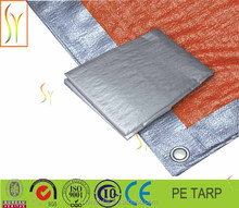 2015 popular production all clors PE tarpaulin in roll cheap price go