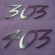 Hot Sale Outdoor Mirror Metal Numbers Metal Digital Letters Signage For Building