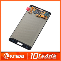 100% original new mobile phone lcd replacement for samsung galaxy Note4