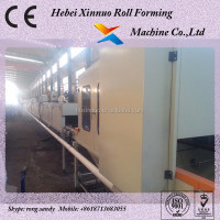 Aluminium Plate Protable Sand Blasting Roofing Panel Making Machine