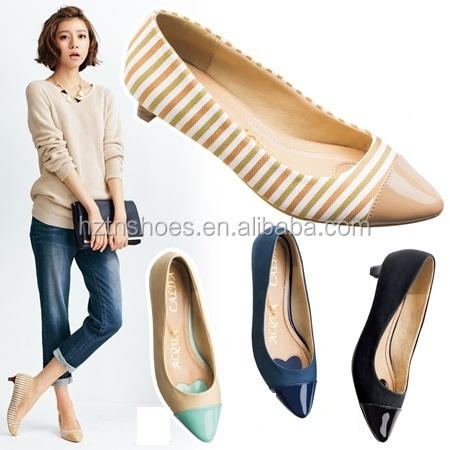 New trend ladies court shoes kitten heels women's pumps shoe women low heel dress shoes