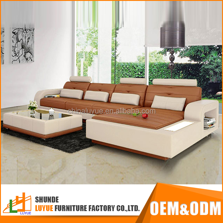 hot selling luxury european style exotic genuine leather latest design sofa set