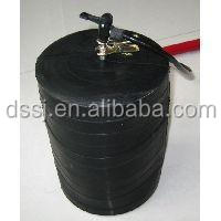 High pressure single size mechanical pipe test plug