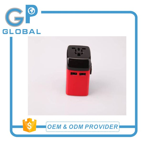 Multi function universal travel adapter items