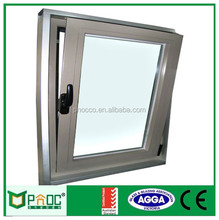 aluminium glazing channel window with high quanlity PNOC111511LS