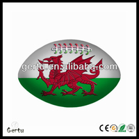 2014 High Quality glow in the dark rugby balls