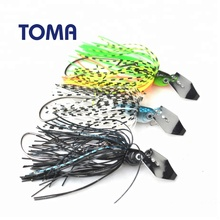 TOMA 7g 10g 14g Cheater Spinner Bait Metal Fishing Lures Jig Head SaltWater